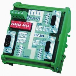 Répartiteur et multiplexeur d'impulsions codeurs MOTRONA GV204
